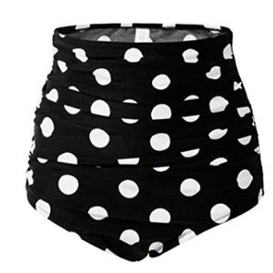 High waisted polka dot.